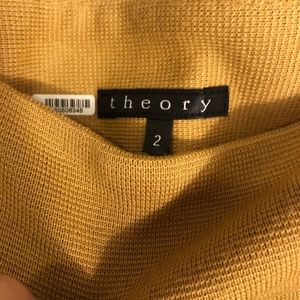 Theory wool mini skirt